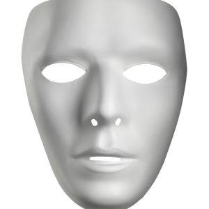 Blank Male Mask