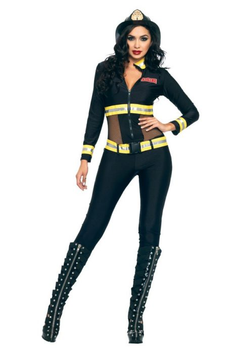 Blazing Sexy Firefighter Costume
