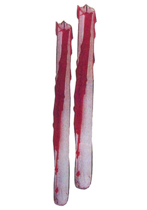 Bleeding Taper Candles