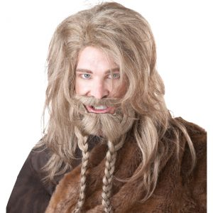 Blonde Viking Wig