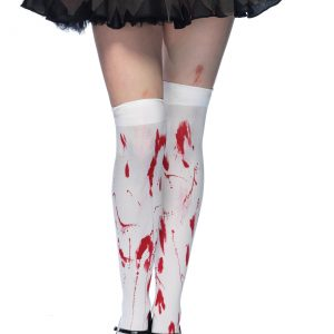 Bloody Thigh High Stockings