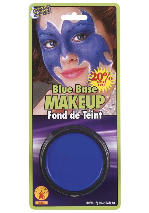 Blue Base Makeup