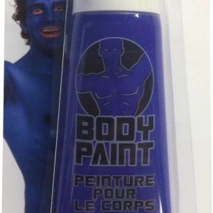 Blue Body Paint