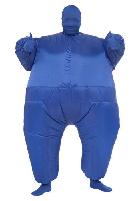 Blue Infl8's Costume