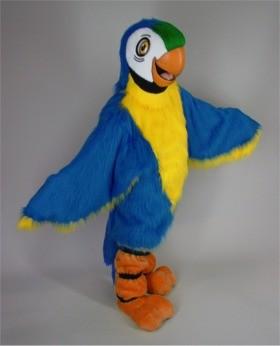 Blue Macaw Mascot Costume