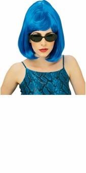 Blue Starlet Wig