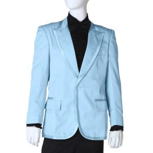 Blue Tuxedo Coat