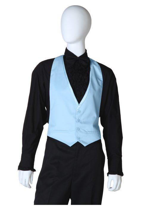 Blue Tuxedo Vest