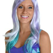 Blue and Purple Monster Wig