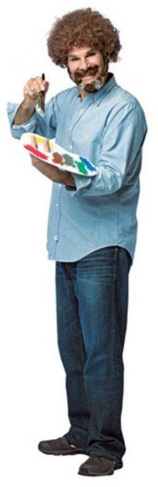 Bob Ross Costume Kit