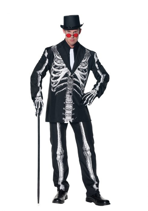 Bone Daddy Skeleton Suit Costume