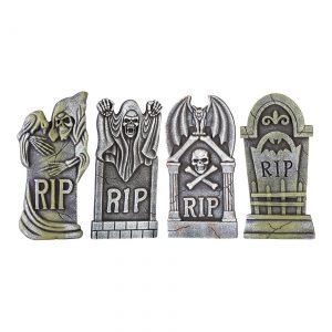 Boneyard Set of 4 Tombstones