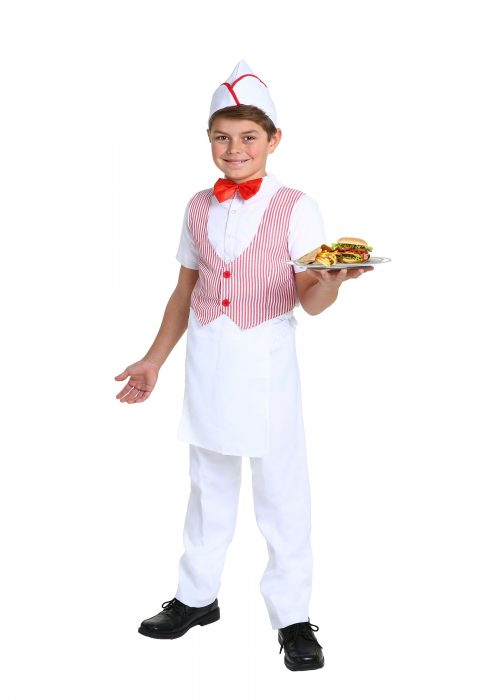 Boy's 50s Car Hop Costume