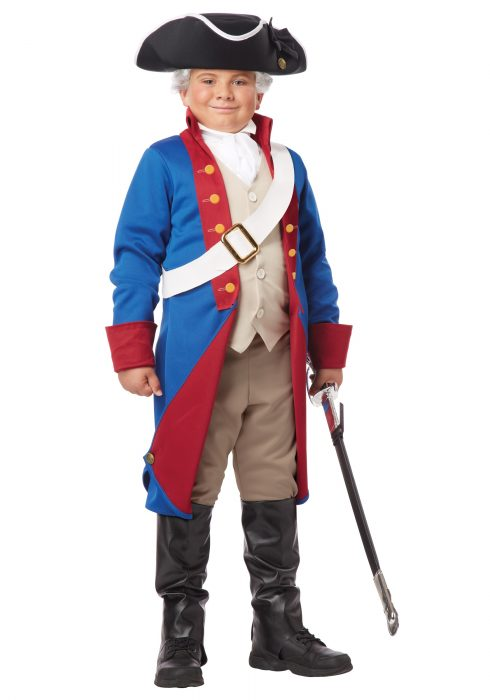 Boys American Patriot Costume