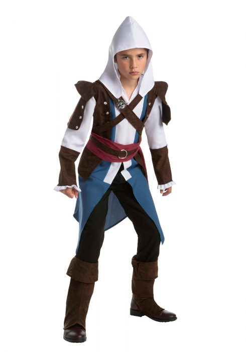 Boys Assassins Creed Edward Kenway Costume