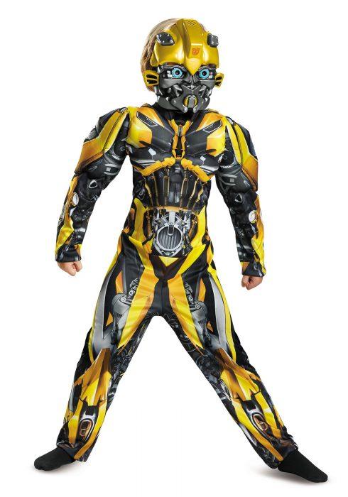 Boys Bumblebee Muscle Costume