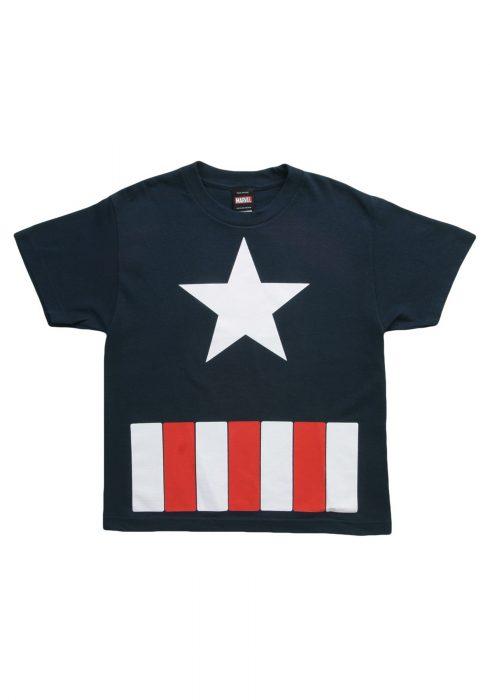 Boys Captain America The Great Star TShirt