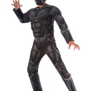 Boys Civil War Black Panther Deluxe Costume