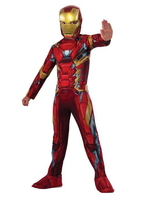 Boys Civil War Iron Man Costume