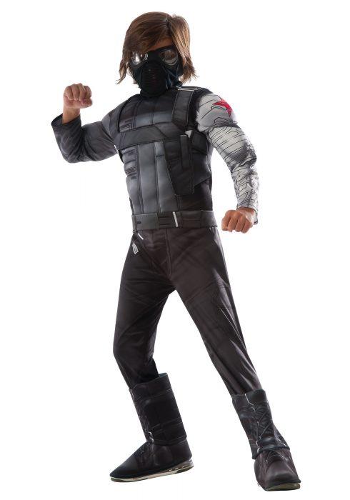 Boys Civil War Winter Soldier Deluxe Costume