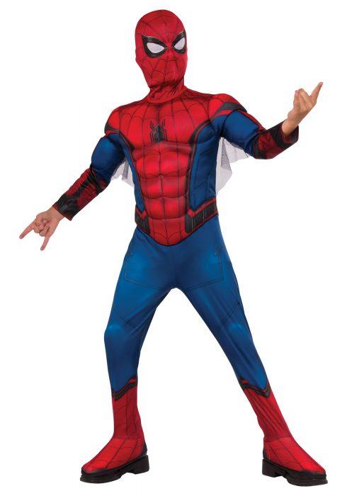 Boys Deluxe Spider-Man Costume