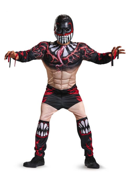 Boys Finn Balor Classic Muscle Costume