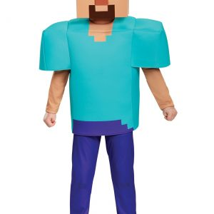 Boys Minecraft Steve Deluxe Costume