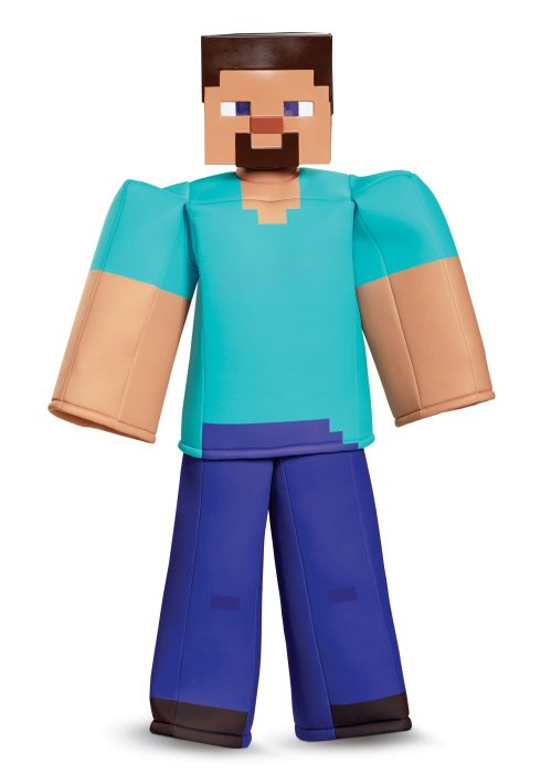 Boys Minecraft Steve Prestige Costume