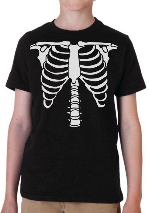 Boys Skeleton Costume T-Shirt