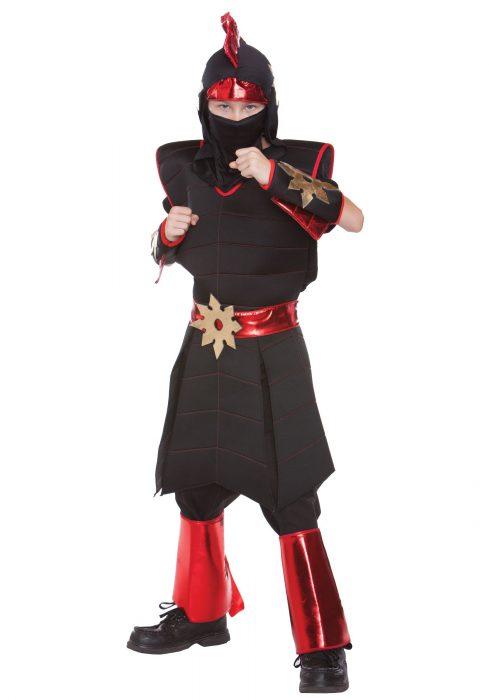 Boy's Throwing Star Ninja Costume