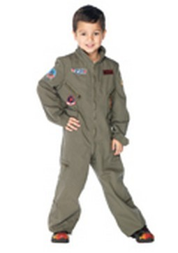 Boys Top Gun Flight Suit