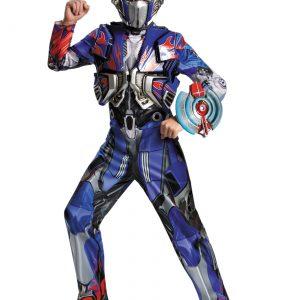Boys Transformers 4 Optimus Prime Deluxe Costume