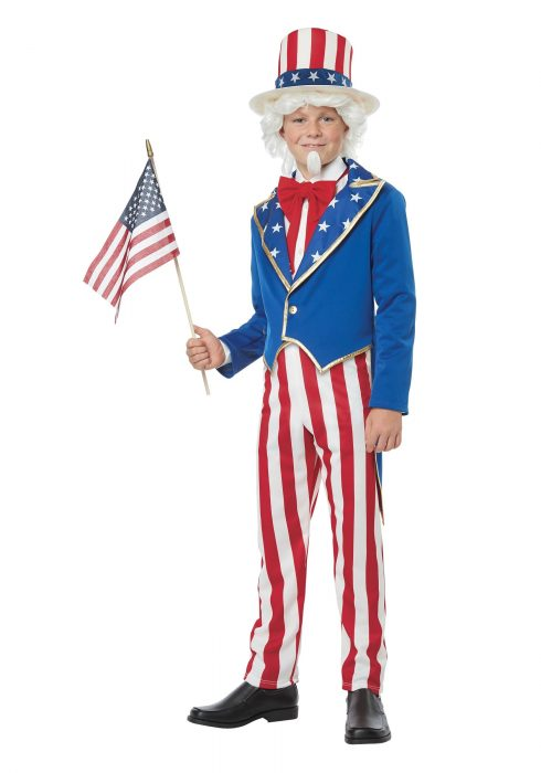 Boys Uncle Sam Costume