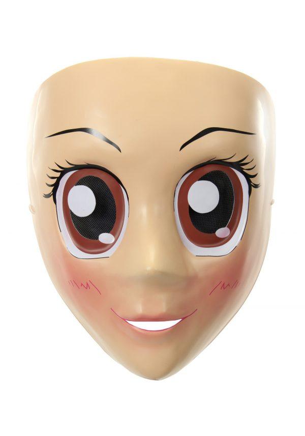 Brown Eyes Anime Mask