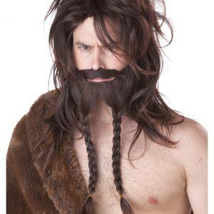 Brown Viking Wig