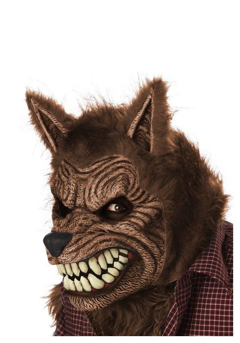 Brown Werewolf Ani-Motion Mask