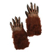 Brown Werewolf Gloves