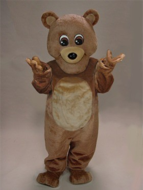 Brownie Teddy Bear Mascot Costume