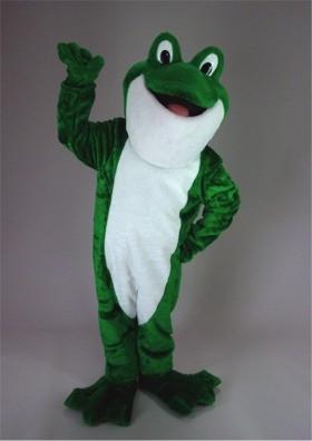 Bullfrog Mascot Costume