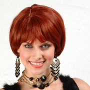 Burgundy Fashion Wig