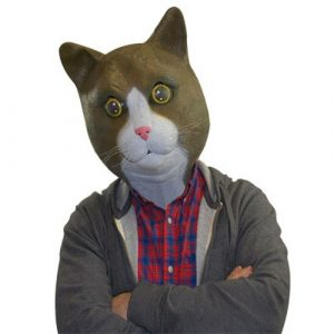 Buster Brown The Cat Mask