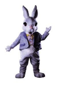Buttermilk Bunny Mascot Costume