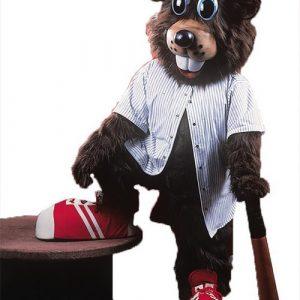 Buzzy Beaver Mascot Costume