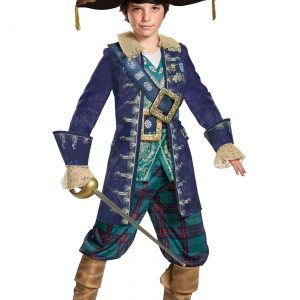 Captain Barbossa Boys Deluxe Costume