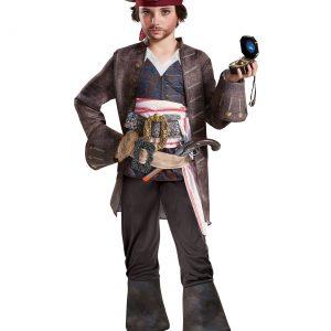 Captain Jack Sparrow Boys Deluxe Costume
