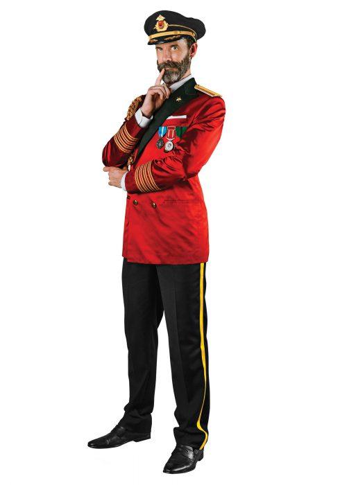 Captain Obvious Men's Costume