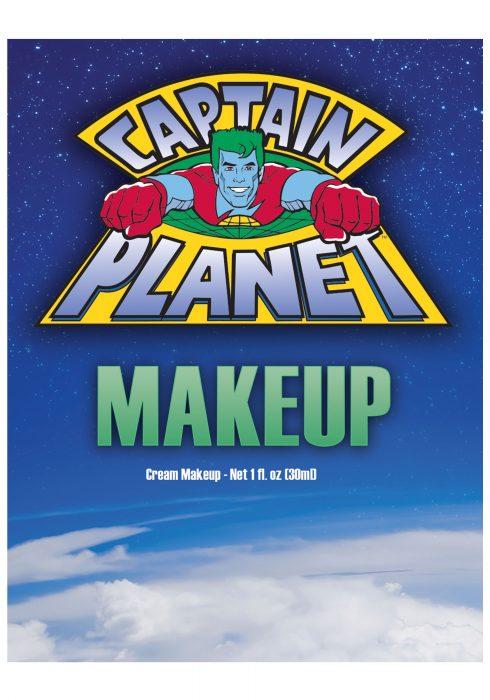 Captain Planet Blue Makeup