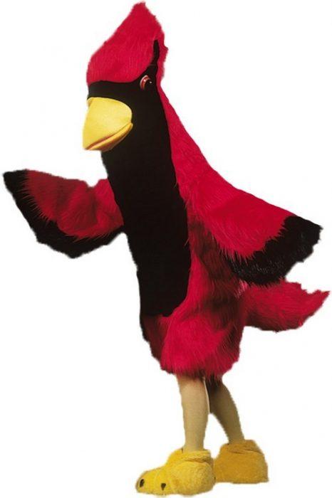 Cardinal Mascot Costume