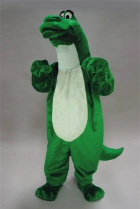 Cartoon Dinosaur Mascot Costume
