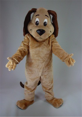 Cartoon Dog Mascot Costume